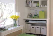 Craft room ideas / by Sherry Zitrick