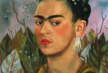 Art/Frida Kahlo / Artwork by Frida Kahlo / by Gloria Fraser