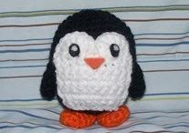 Crochet: penguins / Patterns and ideas to create penguins as toys, hats, scarves, blankets, etc.