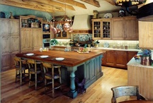 kitchen islands / by Catherine Taylor