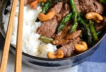 Japanese Main Dishes:  Beef