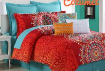 Licensed Products / The famous colors you love in an exclusive line of linens, flatware and more.