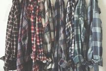 ■Plaid shirt■