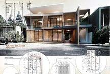 Edificación y Obra Civil / Presentaciones tipo poster-cartel de proyectos relacionados con edificación y obra civil