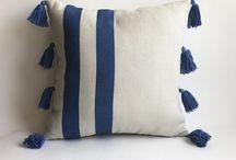 Tassels pillow