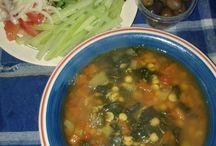 Comida saludable / Comida sin carne,,sin leche  y sin gluten