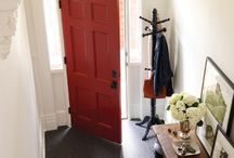 Red front door / by Hanna Villanueva
