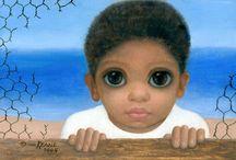 Margaret Keane | A pintora de crianças com olhos grandes