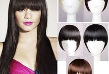 Bangs / Bangs, also called a fringe, is a shaped cutting of the front part of the hair so that it lies over the forehead. Bangs are usually cut fairly straight at or above the eyebrows, but it can also be ragged or ruffled, spiked up with hair gel, mousse or wax, swept to one side or the other, or cut longer to fall over the eyes. There are Straight Across or Full Bangs, Sideswept Bangs, Blunt Bangs, See-Through or Wispy Bangs, Arch or Round Bang, Parted Bangs, Baby Bangs and Brow-Skimming Bangs in Pop.