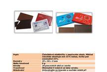 Reklamní cukrovinky, sladkosti / Výběr z našeho širokého sortimentu reklamních sladkostí
