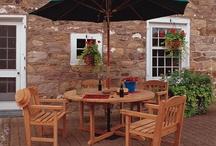 Outdoor Accessories / Patio accessories, patio furniture, deck accessories, garden accessories / by EP Henry