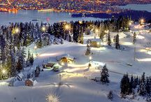 Skiing Places / by Elizabeth Langston