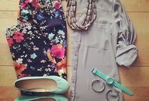 Cool Outfit Flatlays