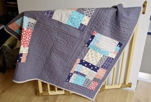 Quilt / Quilt and Quilt patterns with a splash of fabric fun / by Tag für Tag