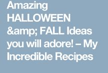 Halloween | Crafts, Decor, Recipes / Everything you need for Halloween