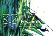 hdpk Festival Juli 2015 / Renommierte Berliner Fachhochschule öffnet ihre Pforten und präsentiert spannende Studienprojekte zum Anfassen und Ausprobieren - vom 17. bis 19.07.2015 in der Potsdamer Str. 188 in 10783 Berlin-Schöneberg.