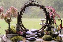 Zen Gardens / Get some peace of mind with these creative and calming zen garden tips.