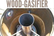 wood gassifier