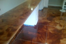 Concrete Polyaspartic Floor