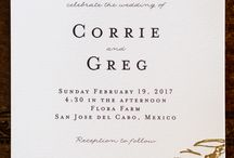 Corrie & Greg: Flora Farms Wedding / Wedding Coordination: Amy Abbott Events | Stationer: Bells and Whistles | Flowers: Pina Hernandez | Rentals: Del Cabo Events | Hair & Make-up: Blanc Bridal Salon by Neysa Quintana | Photography: Ana & Jerome