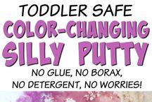 Kids crafts / Gyerekjáték házilag