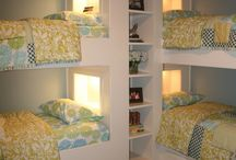 Kids bedrooms / Making bunk beds