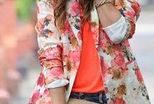 Floral:Blazers