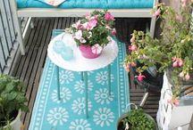 decoración con plantas en espacios muy pequeño