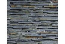 panneaux de pierre