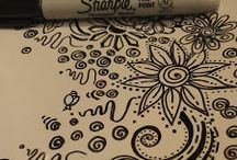 sharpie art