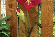 Wool Applique Wall Hangings / Patterns and kits for wool Applique wall hangings by WoolyLady