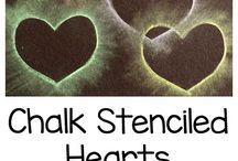 Dílnička pro děti - srdce