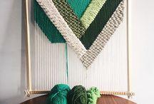 Creative weaving / Inspiration til væve-tema på Krea&Kultur