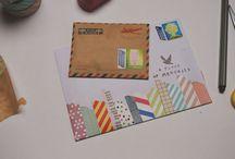 Envelop en kaarten