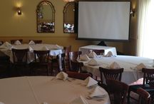 Private Banquet Rooms / We have 8 rooms that can accommodate from 8 to 120 people!
