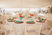 Wedding Reception Ideas / Ideas for Wedding Reception in an outdoor setting by the beach