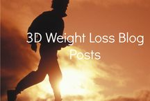 3D Weight Loss Blog Posts / Simple, actionable info in these posts to help you lose weight and get truly fit! http://todaystheday7weekplan.wordpress.com