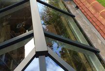 Lantern, Flat & Guardian Roofs