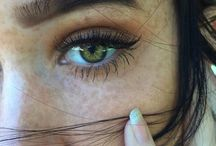 Makeup and looks for Green eyes