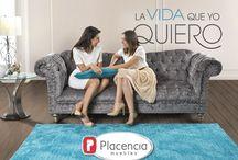 Placencia Muebles / Diseños exclusivos en muebles que aportan un estilo inigualable a tu hogar.