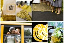 Yellow and Grey Weddings