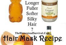 DIY hair & skin remedies
