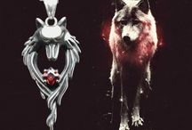 Wolf pendant / Кулоны с образом Волка / Кулоны с образом Волка
