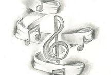 Dibujos musicales