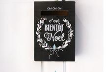 Noel / Calendrier de l'avent