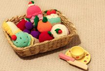 CocomoKids - Creative Play / Unique handmade crochet items for creative play time with babies