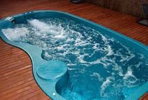 Fibreglass Pool - Swim Spa