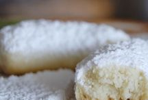 Kourabiedes - Greek Shortbread Biscuits