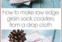 Drop cloth ideas