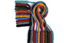 Shinobi Gear - Kusari Fundo / Hand made rope version kusari fundo. These Kusari Fundo are hand made by us, ensuring the best quality in training gear available. Our new revolutionary dying process produces amazing deep, rich and vibrant colors. Nobody brings you more selections! Available in 27 in. ($12.00) and 36 in. ($15.00). Choose from twelve great colors to personalize your training. *Note: Color tone may vary between batches.